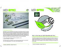 LED Street and Parking Lot Retrofit Kits