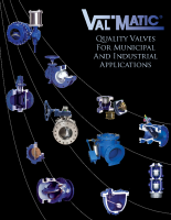 Val-Matic Municipal and Industrial Valves