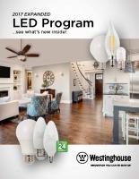 LED Lamp Brochure