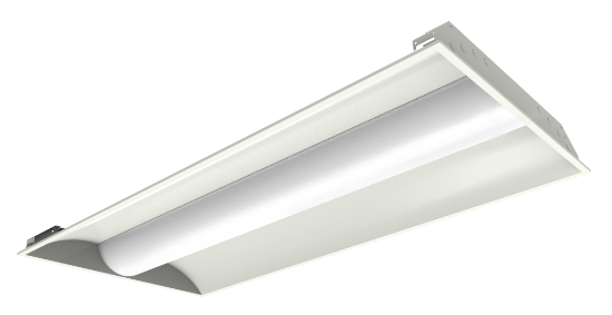 40W 2x4 LED Troffer, 5000K