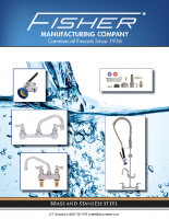 Fisher Mfg Faucets