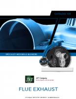 Flue Exhaust Motors