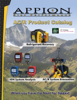 Appion Recovery Equipment